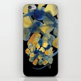 Atom Flowers #32 iPhone Skin
