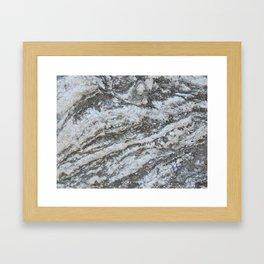 TEXTURES -- Riverstone #1 Framed Art Print