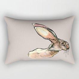 Rabbit Two Rectangular Pillow