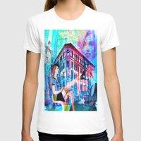 women T-shirts featuring Women by Ganech joe