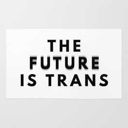 The Future Is Trans Rug