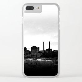 Columbus Georgia Skyline Clear iPhone Case