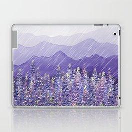 Purple Mountain Rain Laptop & iPad Skin