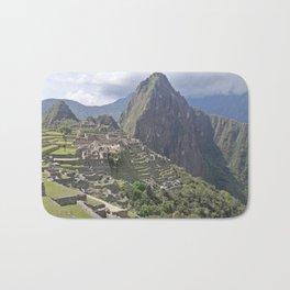 Machu Pichu Cuzco Peru Bath Mat