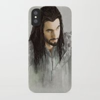 thorin iPhone & iPod Cases featuring Thorin by Alba Palacio