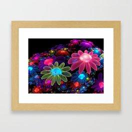 Spring Colors Tulips Framed Art Print