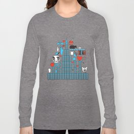 FASHIONISTA CAT NY Long Sleeve T-shirt