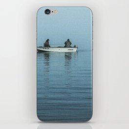 Fishing In The Fog iPhone Skin