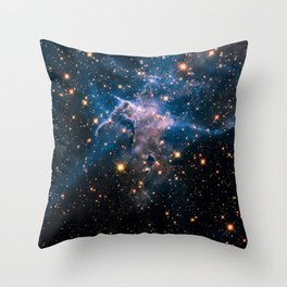 Mystic Mountain (Infrared) Throw Pillow