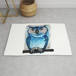 Blue Owl Rug