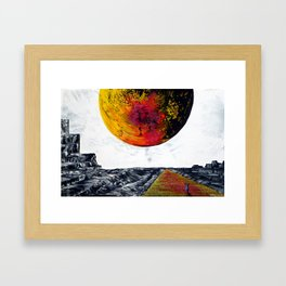 Come On A Journey With Me Framed Art Print
