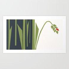 red corn Art Print
