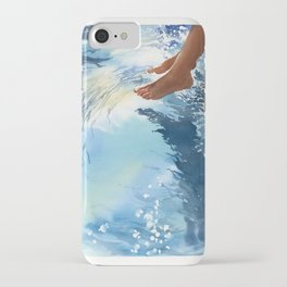 Legs over the water iPhone Case
