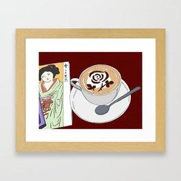 Tokyo Yumeji Cafe Framed Art Print