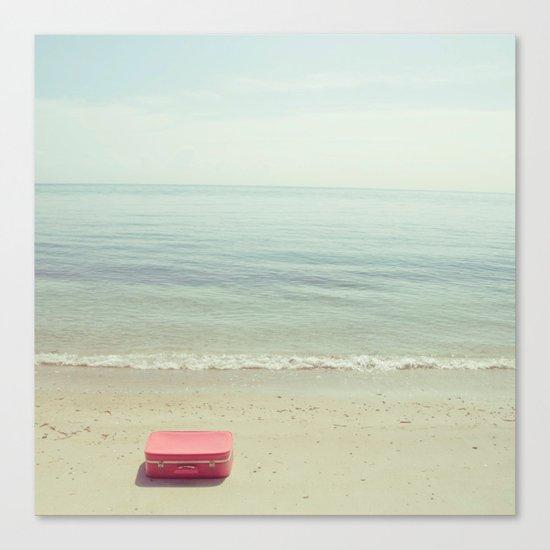 A deep breath. Canvas Print