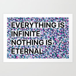 do nothing Art Print