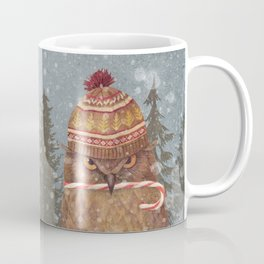 Christmas Owl  Coffee Mug