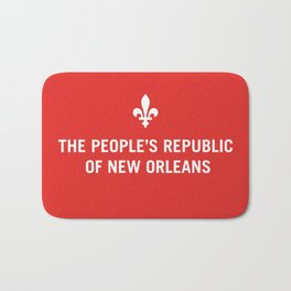 The People's Republic of New Orleans Bath Mat