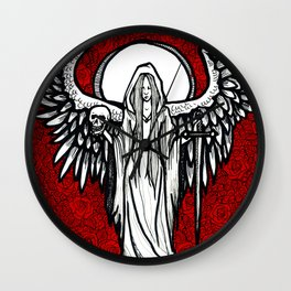 Angel of Death Wall Clock