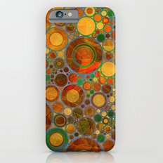 Abstract Circles Pattern 2 iPhone 6s Slim Case