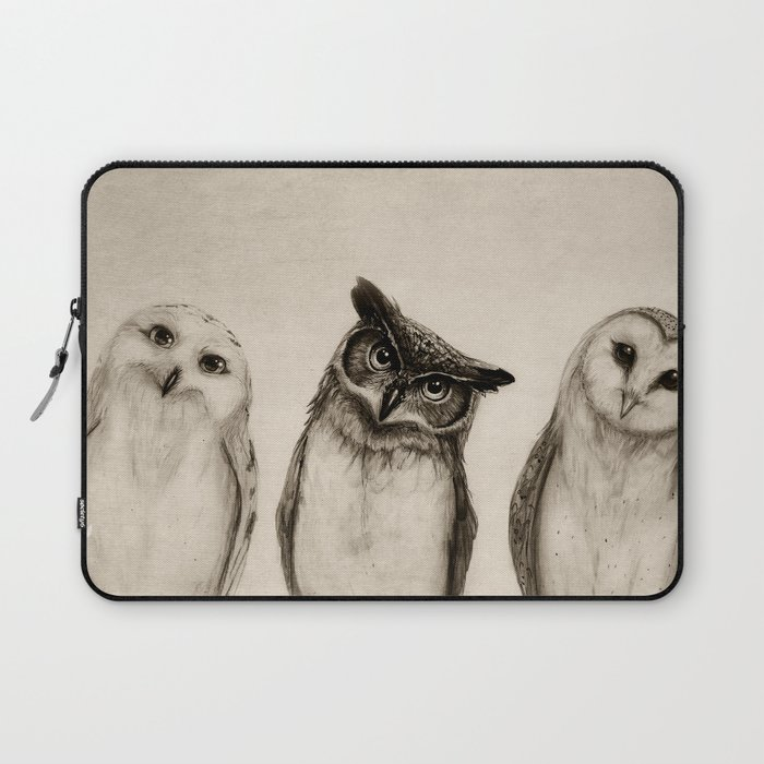 The Owl's 3 Laptop Sleeve