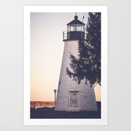 Lighthouse on the Chesapeake Art Print