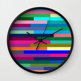 Lignes 14 Wall Clock