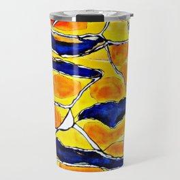 The Sun Also Rises. Society6. Watercolor. Abstract. Travel Mug