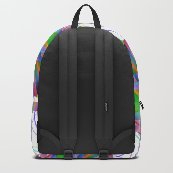 Maple Leaf Abstract Backpack