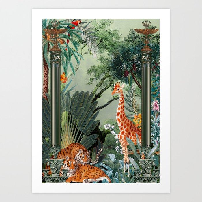 Beautiful Forest V Art Print