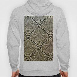 Golden Art Deco pattern Hoody
