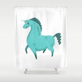 Best Hoof Forward (Unicorn) Shower Curtain