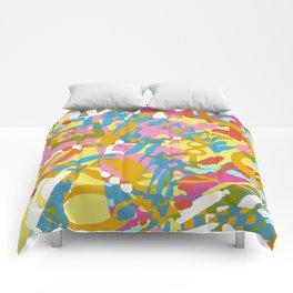 Colourful Daubs Comforters