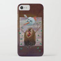 snow iPhone & iPod Cases featuring Snow by gunberk