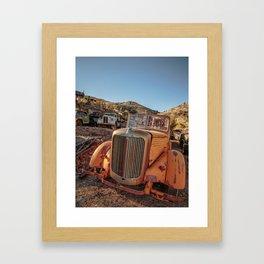 Jerome Arizona Old Trucks Framed Art Print