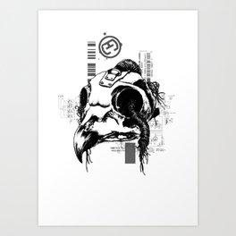 Echo Gear - Phosphate Art Print