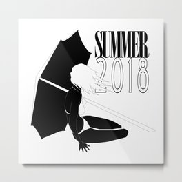 Summer 2018: Limited Time Metal Print