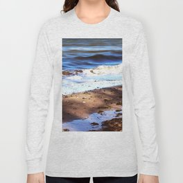 Waves Sand Stones Long Sleeve T-shirt