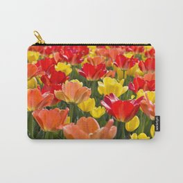 The Tulip Garden Carry-All Pouch