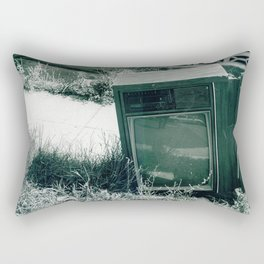 Thrown Asunder  Rectangular Pillow