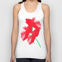 poppies Tank Tops featuring Poppies by Vitta