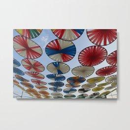 Colores en el viento... Metal Print