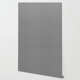 Back and White Lines Minimal Pattern Basic Wallpaper