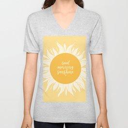 Good Morning Sunshine Unisex V-Neck