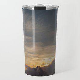 Faded sunset Travel Mug