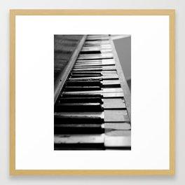 Church Piano Framed Art Print