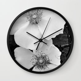 cherokee rose Wall Clock