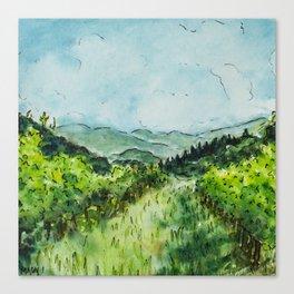 Tuscan Vineyard Canvas Print
