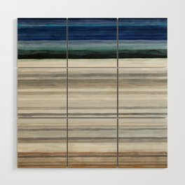 Colorbands Yellowstone Wood Wall Art