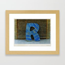 R for your R friends Framed Art Print